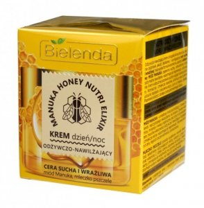 Bielenda Manuka Honey Nutri Elixir Krem odżywczo-nawilżający na dzień i noc  50ml