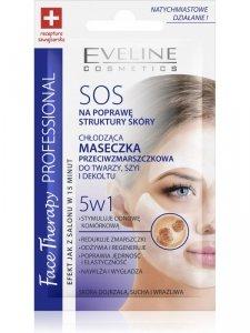 Eveline SOS 5w1 chłodząca maseczka przeciwzmarszczkowa 7 ml