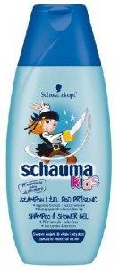 Schwarzkopf Schauma Kids Szampon i Zel pod prysznic dla chlopcow 250ml