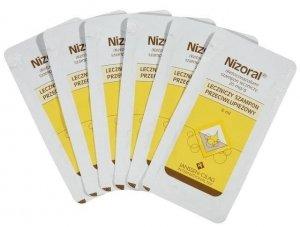 NIZORAL szampon x 6 saszetek