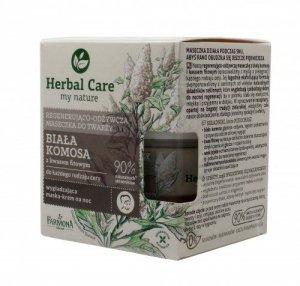 Farmona Herbal Care Maseczka do twarzy regenerująco odżywcza Biała Komosa  50ml
