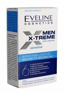 Eveline Men X-Treme 6w1 Balsam po goleniu intensywnie łagodzący Sensitive  100ml