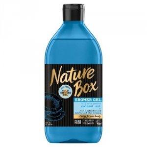 Nature Box Coconut Oil Żel pod prysznic nawilżający  385ml