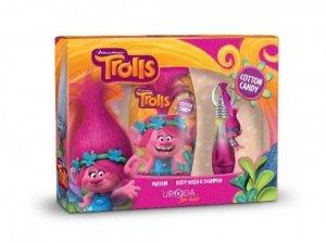 Bi-es Disney Zestaw prezentowy Trolls (perfumka 15 ml+żel pod prysznic 2w1 250ml)