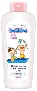 BAMBINO Żel do mycia ciała i włosów 2w1 dla dzieci i niemowląt Dzieciaki-na łódce  400ml