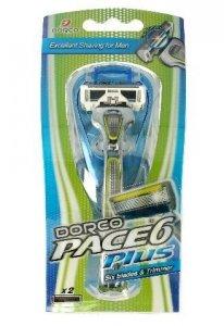 Dorco Pace 6 Plus Maszynka systemowa męska - 6 ostrzy + trymer  1szt
