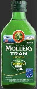 TRAN Mollers naturalny 250ml
