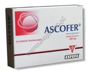 ASCOFER x 50 drażetek