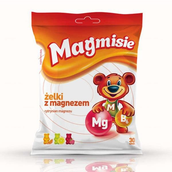 Magmisie żelki z magnezem 30 szt.(135 g)