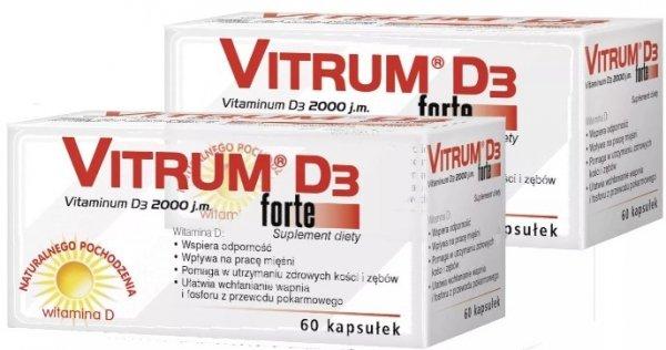 VITRUM D3 FORTE 60 kaps.