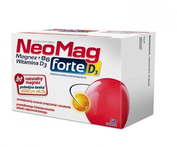 NeoMag forte D3 50 tab.