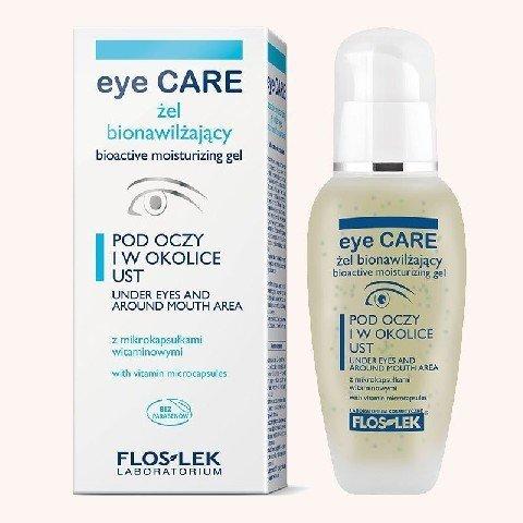 Floslek Pielegnacja oczu Zel bionawilzajacy z mikrokapsulkami wygladzajacy zmarszczki