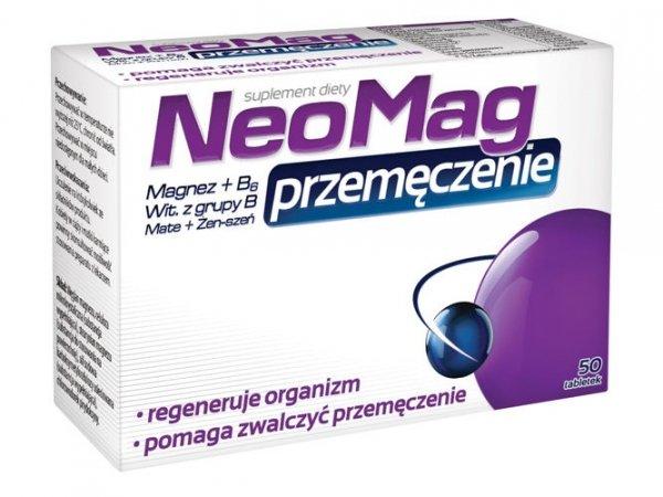 NEOMAG Przemęczenie x 50 tabletek