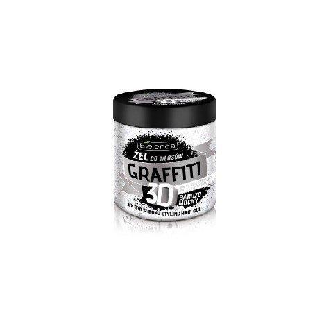 Bielenda Graffiti 3D Zel do ukladania wlosow bardzo mocny  250ml