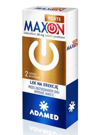 MAXON FORTE na potencję - 2 tab. 50mg