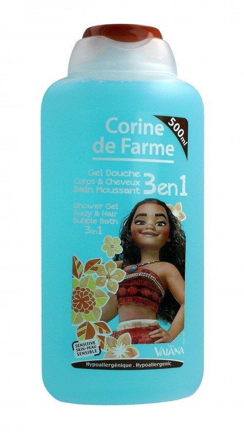 Corine de Farme Vaiana Żel myjący 3w1  500ml