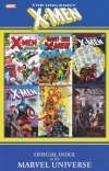 UNCANNY X-MEN OFFICIAL INDEX TO THE MARVEL UNIVERSE SC