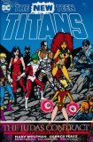 NEW TEEN TITANS THE JUDAS CONTRACT DELUXE HC