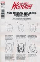 ALL NEW WOLVERINE #25 ZDARSKY HOW TO DRAW VAR LEG