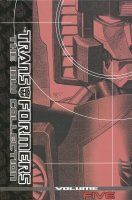TRANSFORMERS THE IDW COLLECTION VOL 05 HC (DELUXE)