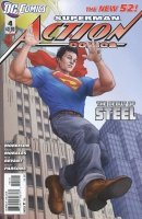 ACTION COMICS #4 VAR ED