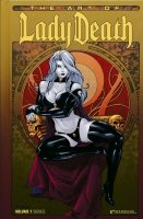 ART OF LADY DEATH VOL 01 HC (SIGNED) (SUPERCENA przelicznik 1.90)