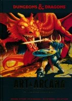 DUNGEONS AND DRAGONS ART AND ARCANA HC