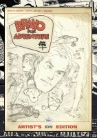 ALEX TOTH BRAVO FOR ADVENTURE ARTISTS EDITION HC **
