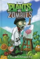 ART OF PLANTS VS ZOMBIES VISUAL RETRO RETROPSEC BOOK HC **