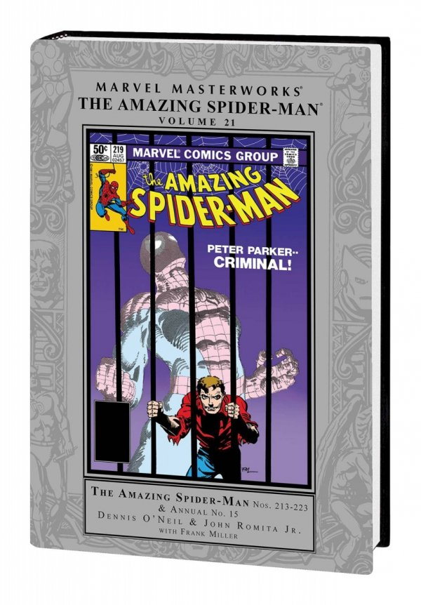 MARVEL MASTERWORKS THE AMAZING SPIDER-MAN VOL 21 HC (STANDARD COVER) **