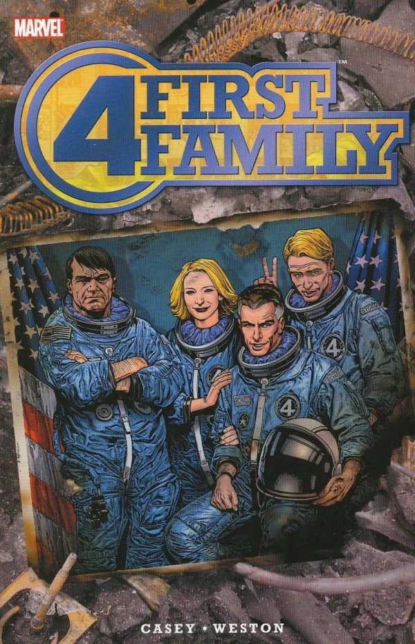 FANTASTIC FOUR FIRST FAMILY SC *