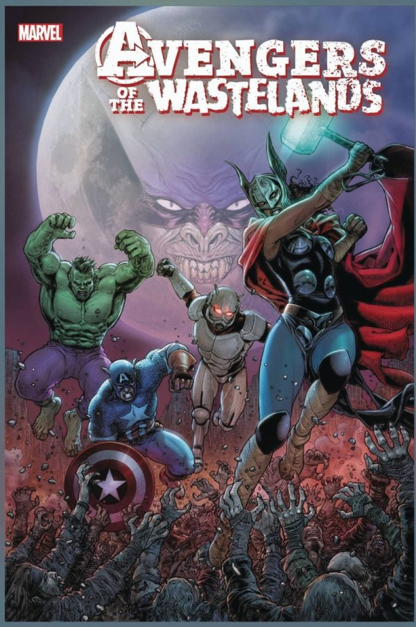 AVENGERS OF THE WASTELANDS #3 *