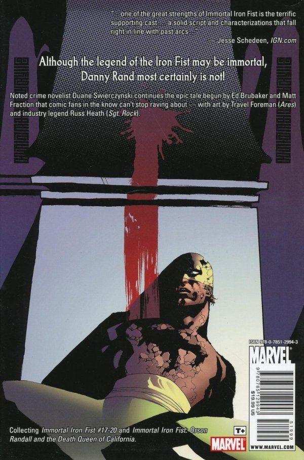 IMMORTAL IRON FIST VOL 04 HC