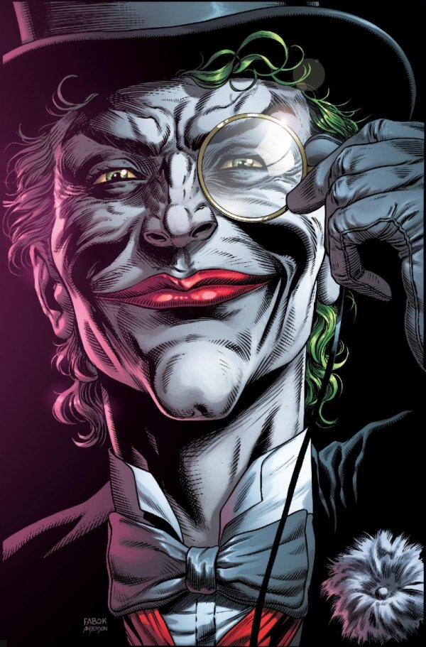BATMAN THREE JOKERS #2 PREMIUM VAR E DEATH IN THE FAMILY TOP HAT AND MONOCLE *