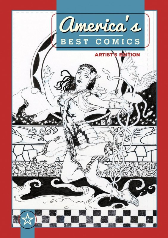 AMERICAS BEST COMICS ARTISTS EDITION JH WILLIAMS III HC (VARIANT COVER) **