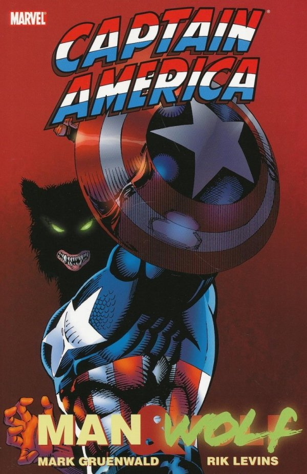 CAPTAIN AMERICA MAN AND WOLF SC **