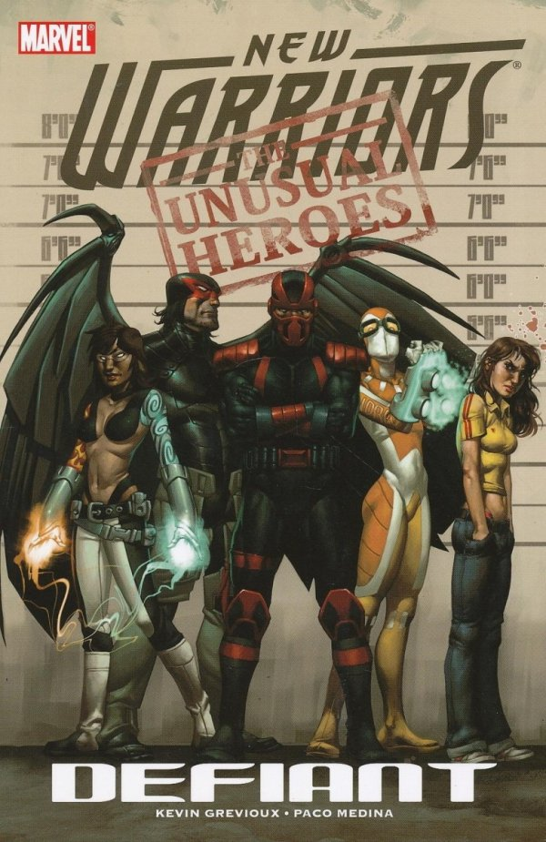 NEW WARRIORS VOL 01 DEFIANT SC