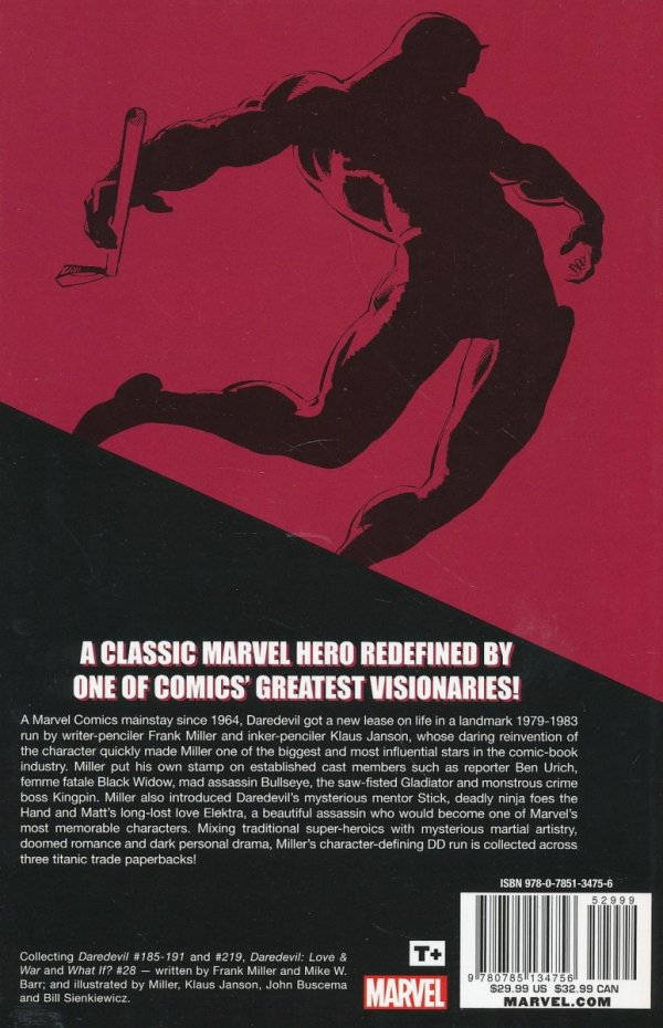 DAREDEVIL BY FRANK MILLER AND KLAUS JANSON VOL 03 SC