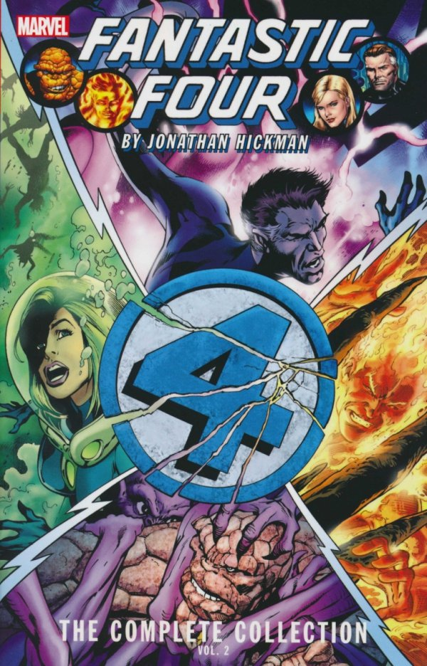 FANTASTIC FOUR BY JONATHAN HICKMAN THE COMPLETE COLLECTION VOL 02 SC