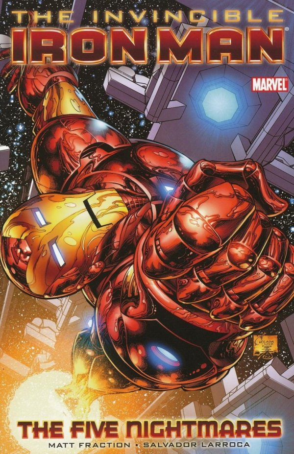 INVINCIBLE IRON MAN VOL 01 THE FIVE NIGHTMARES SC (STANDARD COVER)