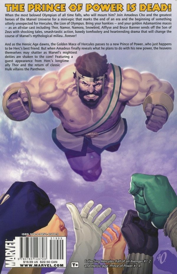INCREDIBLE HERCULES THE NEW PRINCE OF POWER SC *