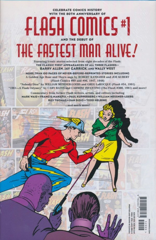 FLASH 80 YEARS OF THE FASTEST MAN ALIVE THE DELUXE EDITION HC