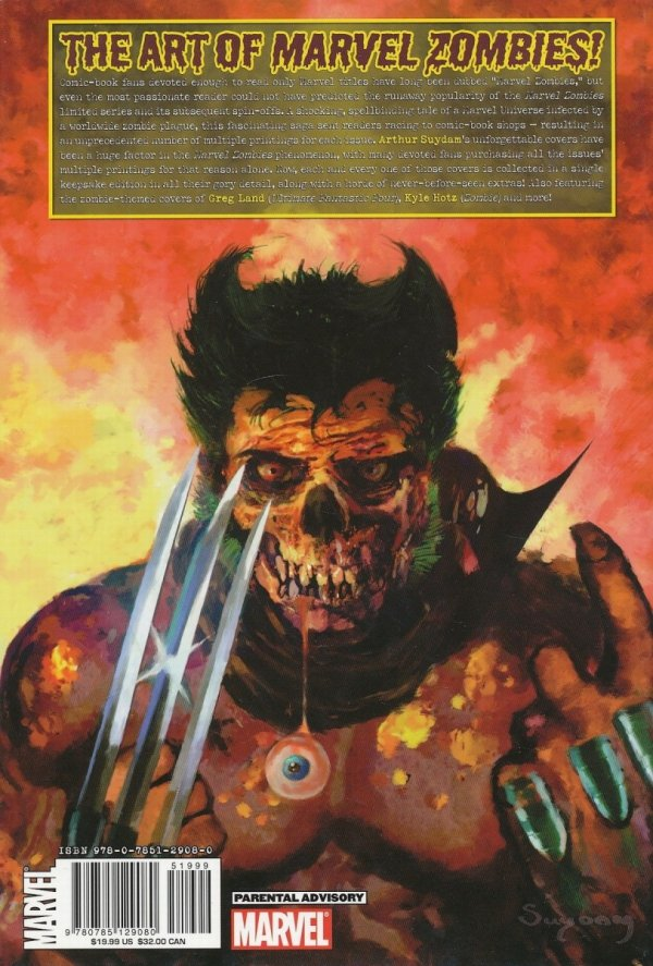 MARVEL ZOMBIES THE COVERS HC