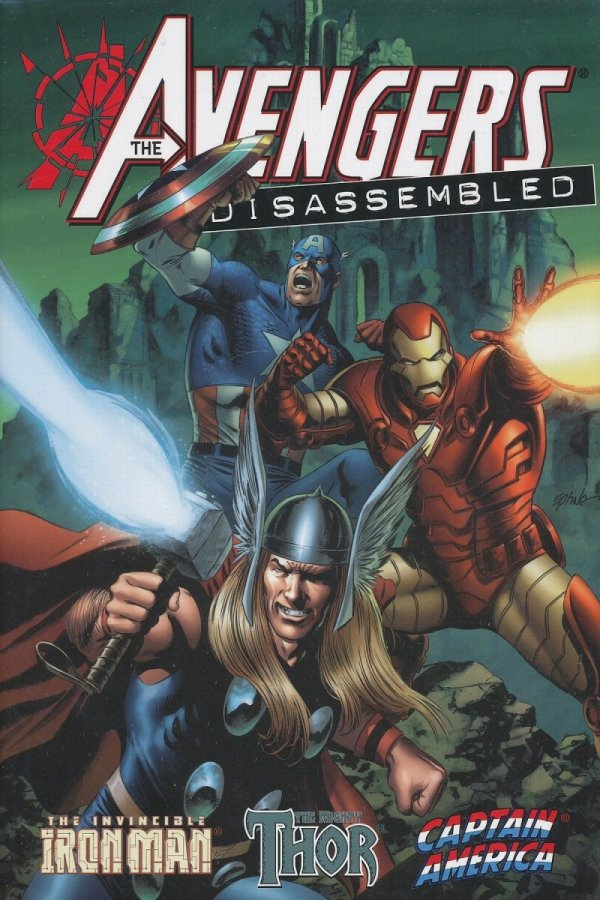 AVENGERS DISASSEMBLED IRON MAN THOR AND CAPTAIN AMERICA HC *