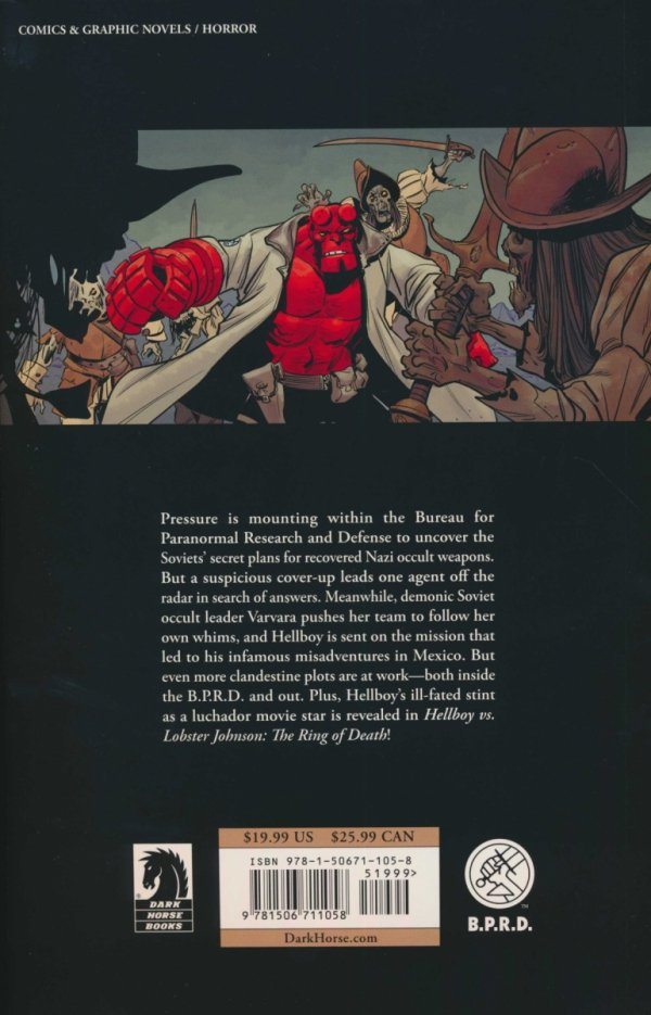 HELLBOY AND THE BPRD 1956 SC