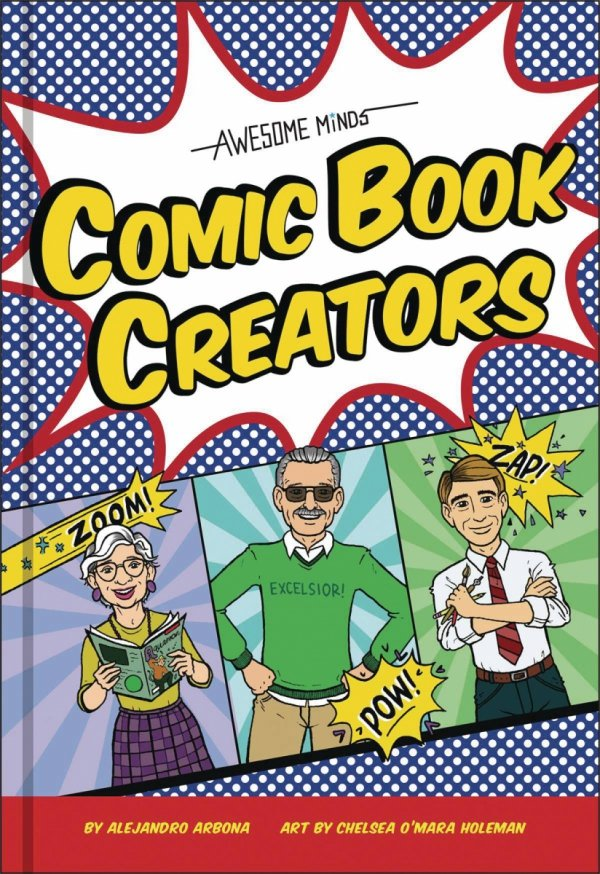 AWESOME MINDS COMIC BOOK CREATORS HC (PREORDER) *