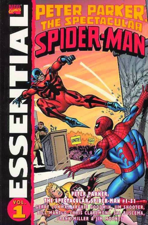 ESSENTIAL PETER PARKER THE SPECTACULAR SPIDER-MAN VOL 01 SC *