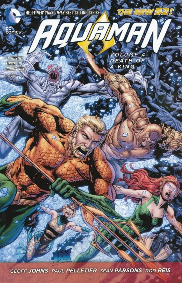 AQUAMAN VOL 04 DEATH OF A KING SC