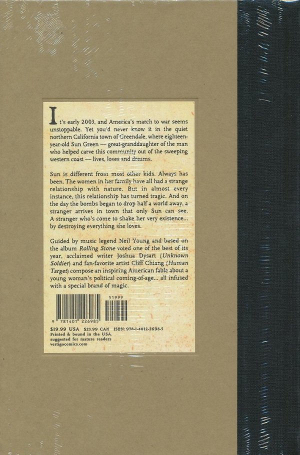 NEIL YOUNGS GREENDALE HC