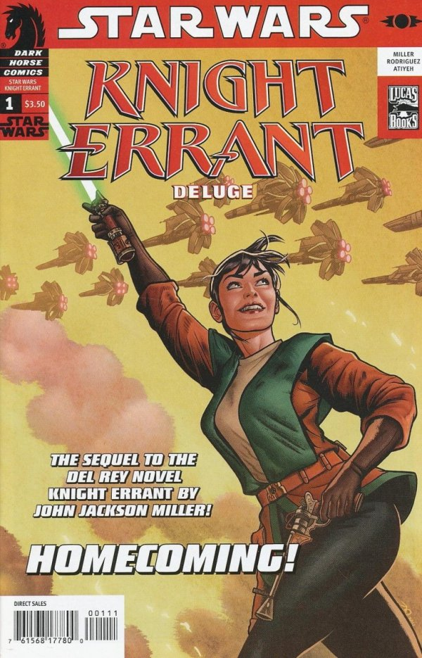STAR WARS KNIGHT ERRANT DELUGE #1
